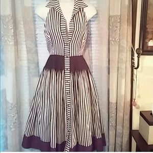 Donna Morgan 1950's Vintage Shirt Dress